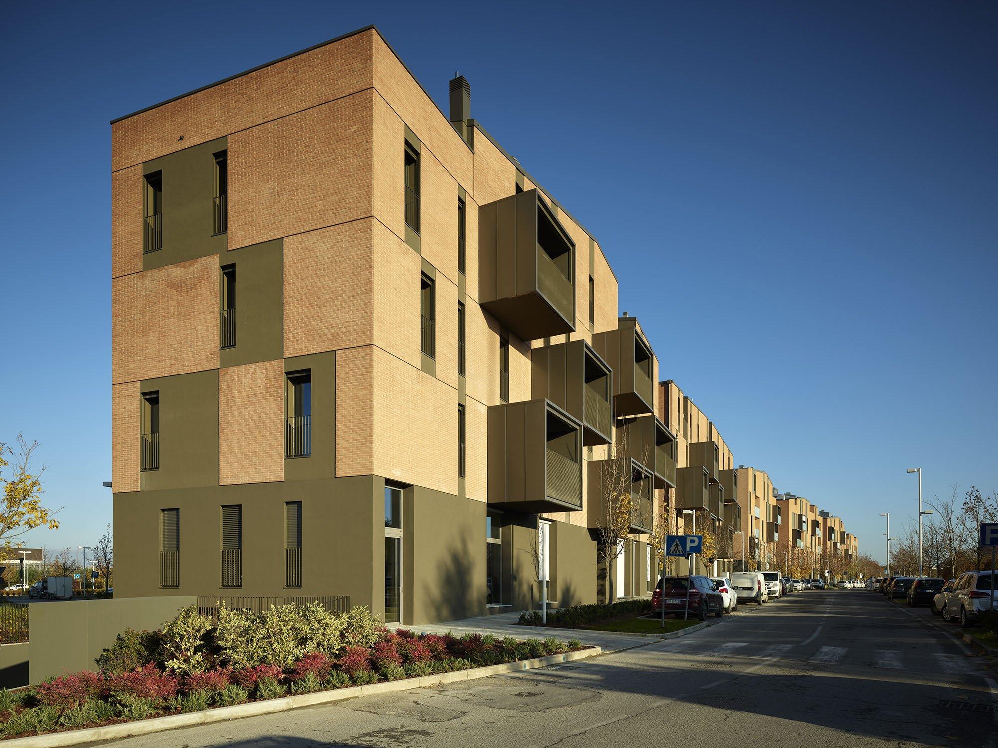 Residenze Area Ex Neri: Faenza gets a new urban backdrop
