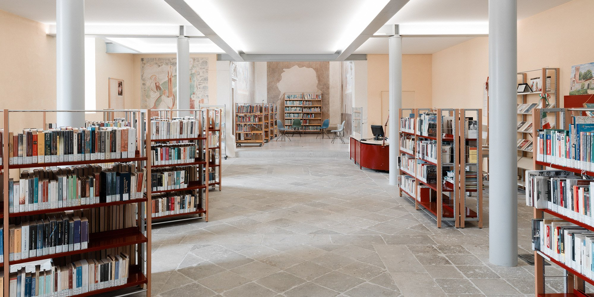 Tra antico e nuovo, restauro della nuova Biblioteca Comunale