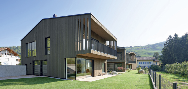 PRIVATE  RESIDENTIAL COMPLEX  HARMONY IN  WOOD