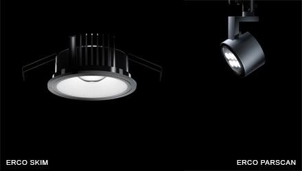 ERCO Skim LED and ERCO Parscan