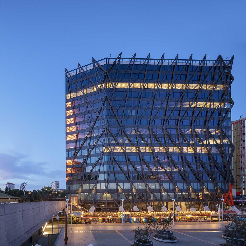Il nuovo volto tecnologico e sostenibile di Londra: Brunel Building
