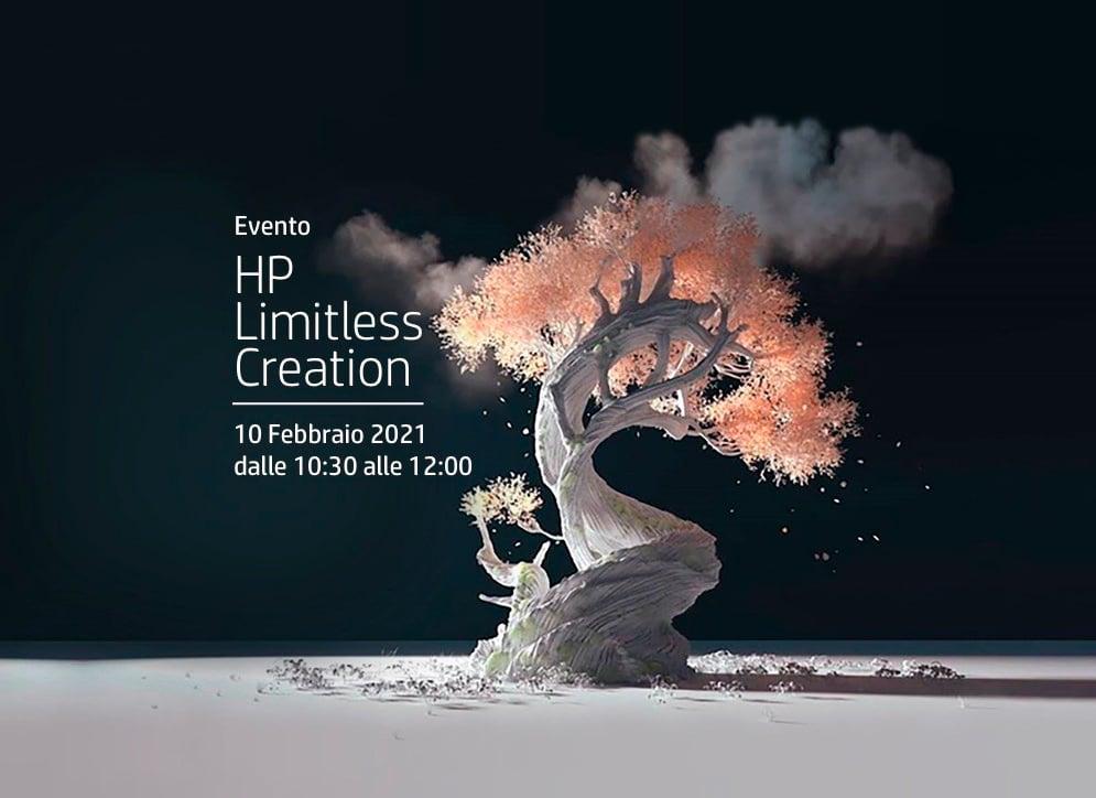 HP Limitless Creation nuove tecnologie stimolano la creatività
