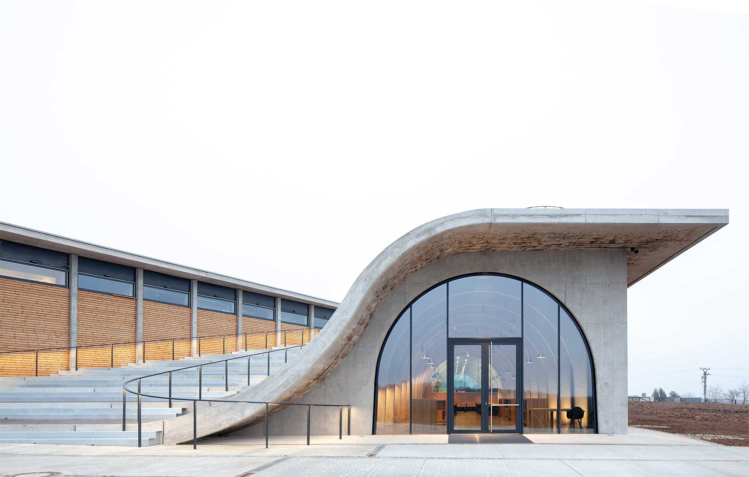 The Lahofer Winery An Amphitheater Set Among The Vineyards Of Czechia
