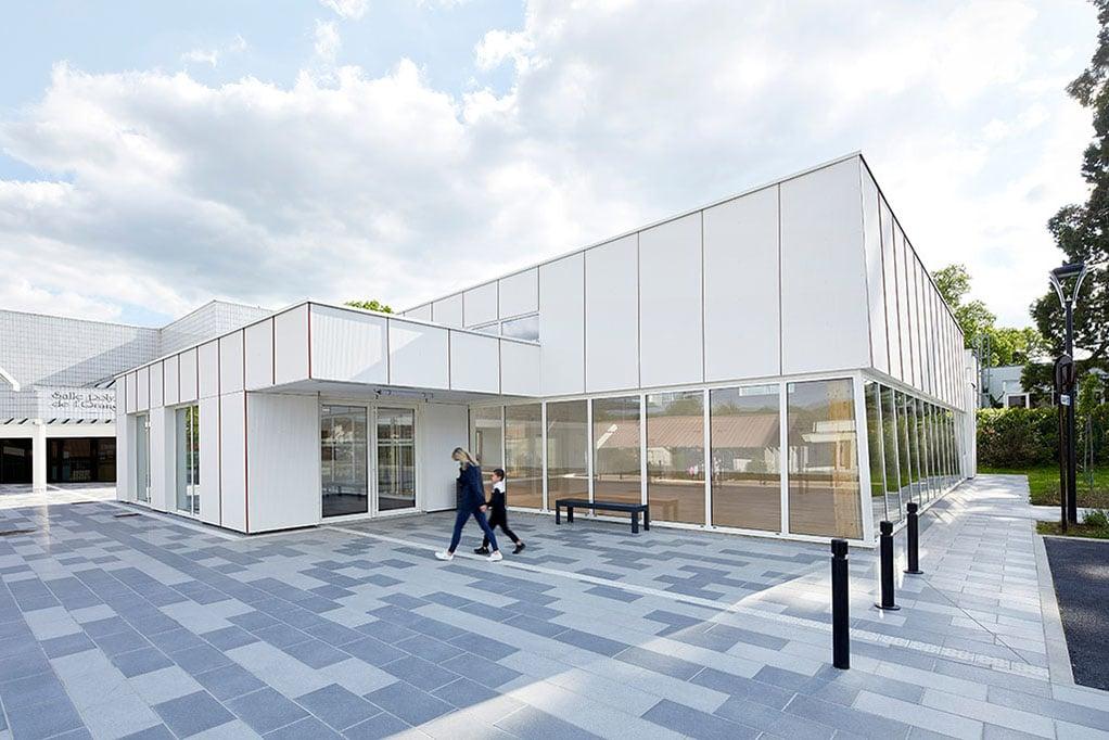 Il centro sportivo Pierre Chevet a Croissy-Beaubourg