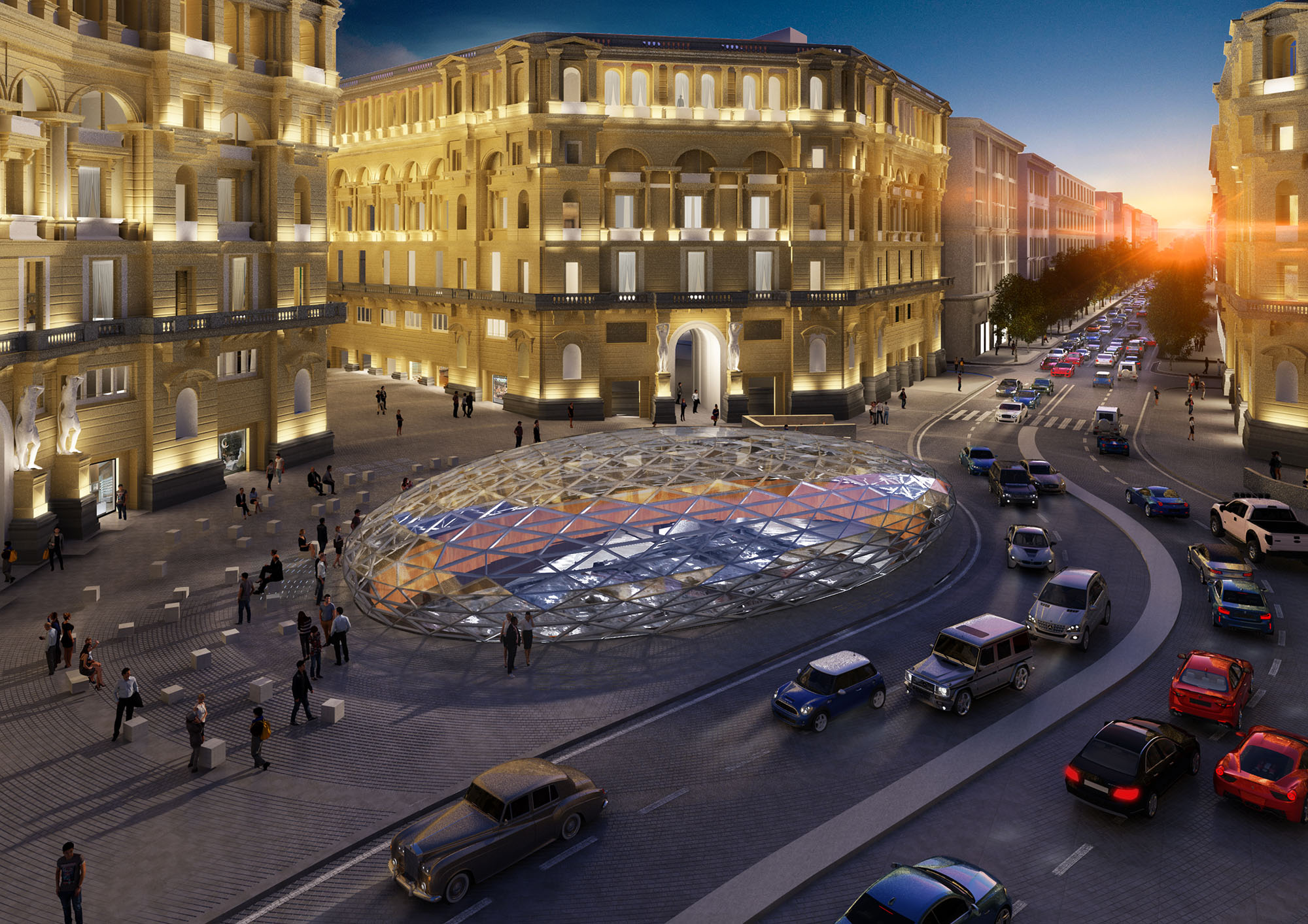 """Napoli, Duomo sarà """"una delle stazioni più belle al mondo"""""""