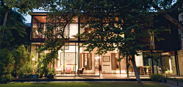 Sinha Slats: ampliamento di una Residenza Privata