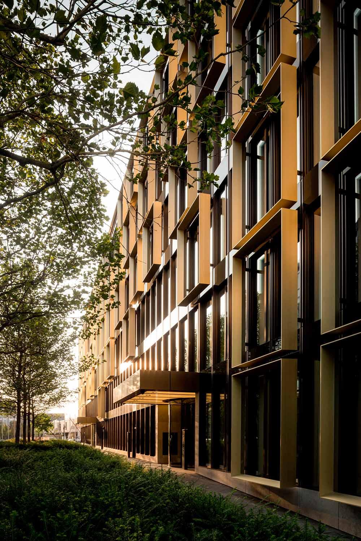 Office building by Antonio Citterio Patricia Viel in Munich