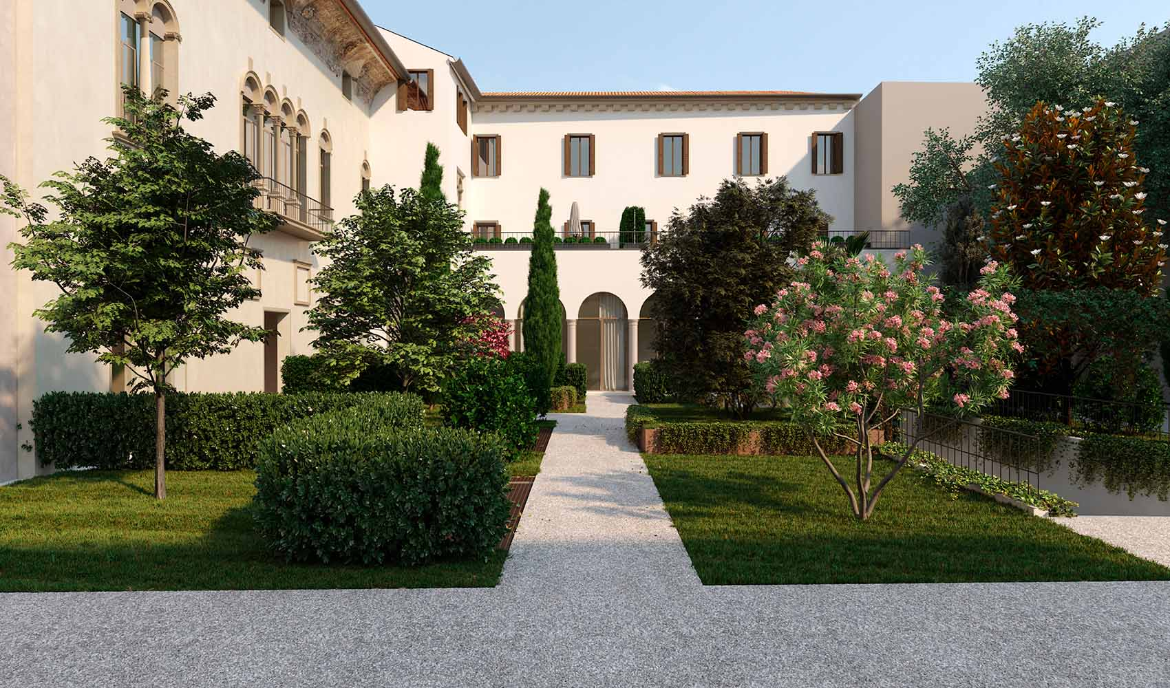 The rebirth of Palazzo Roccabonella, a place with its own soul