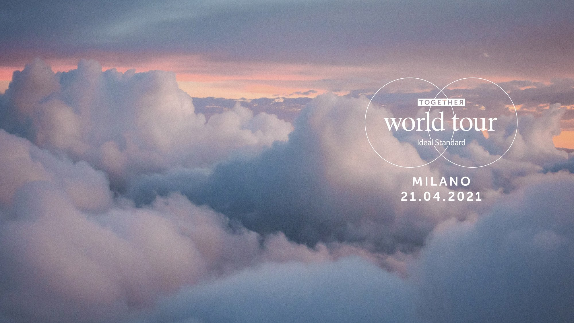 Ideal Standard lancia Together World Tour, design per l'ambiente bagno