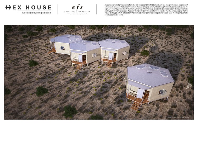 Hex House: an innovative and affordable shelter f