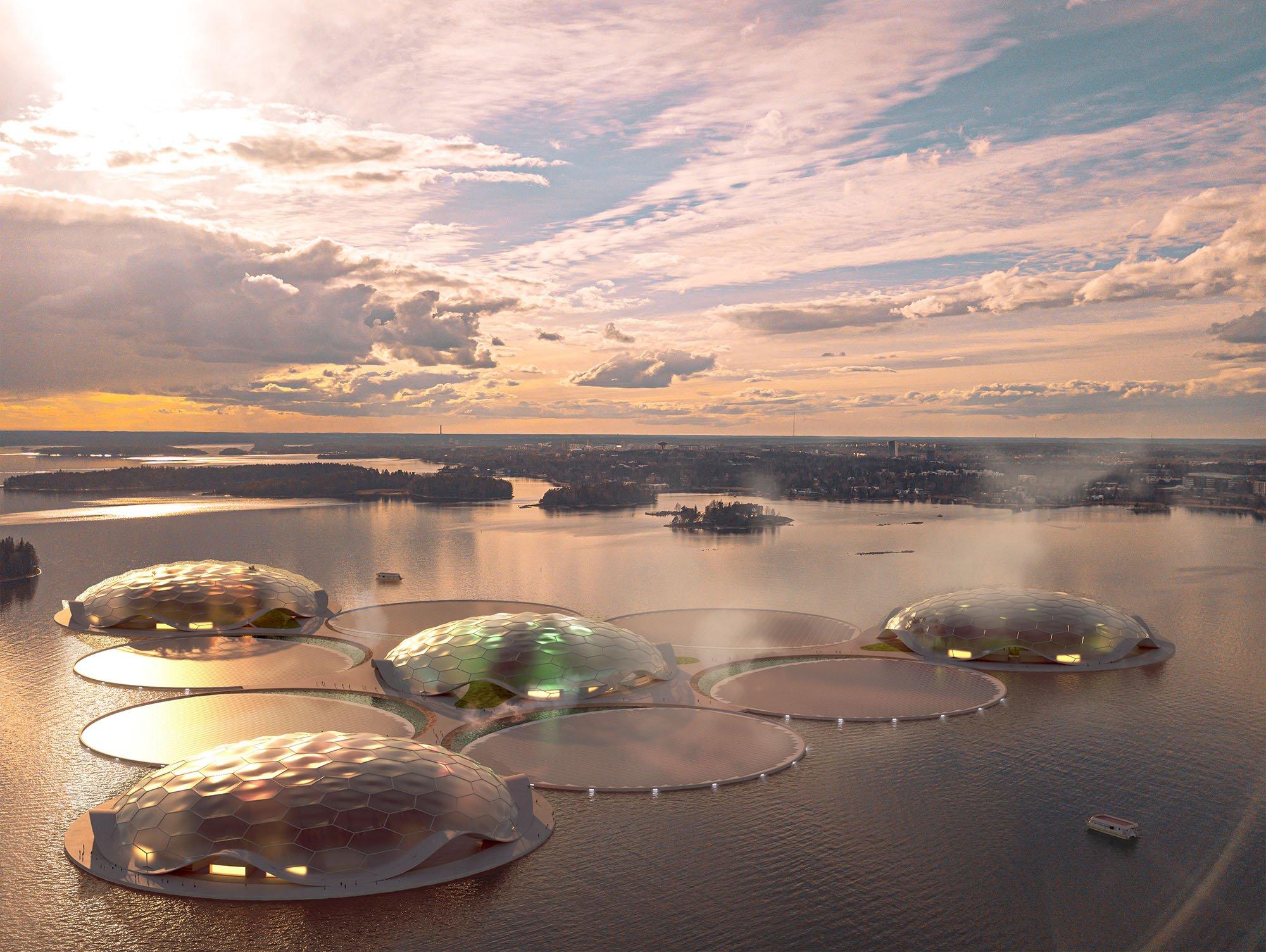 Hot Heart, isole artificiali per l'accumulo di energia termica