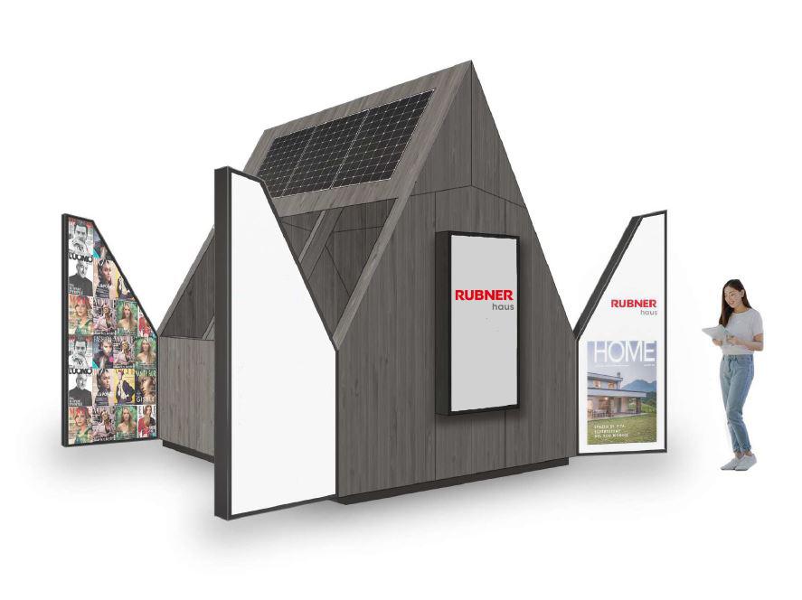 Rubner haus inaugura a Milano l'edicola del futuro