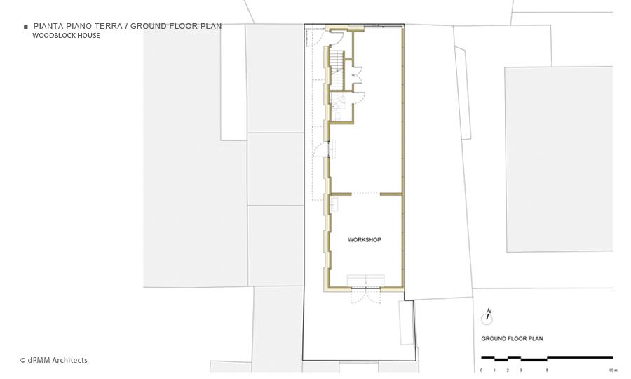 Woodblock house for Finito piano piano interruzione sciopero piani