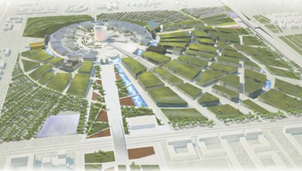 Astana Expo-2017 - Revealed the winning design idea for the Exhibition Site