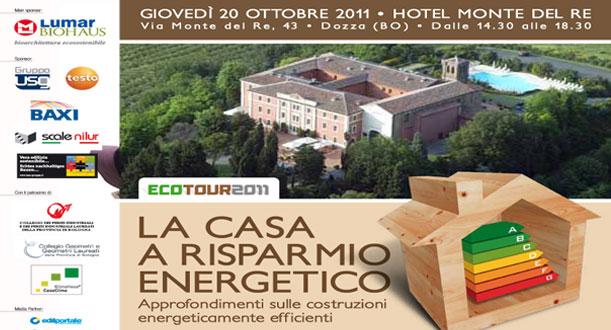 L'Ecotour 2011 fa tappa a Bologna