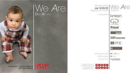 We Are Dieci Rosso