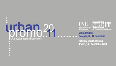 Aperte le iscrizioni ad Urbanpromo 2011 – VIII Edizione