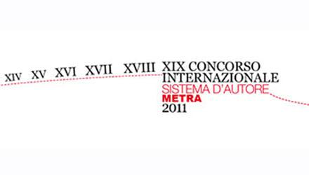 XIX Concorso Internazionale Sistema d'Autore Metra