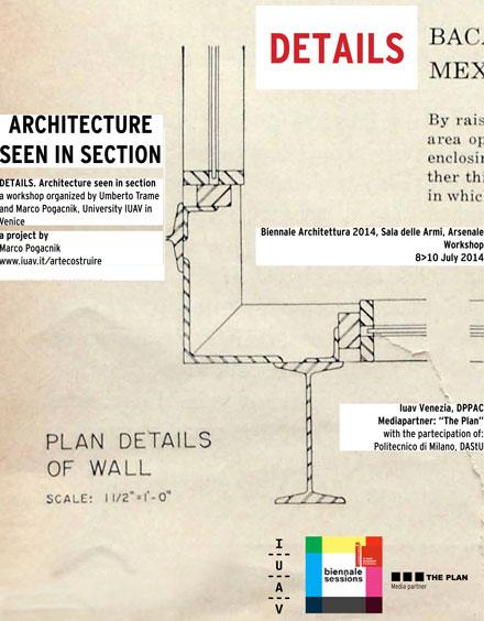Dettaglio: l'architettura vista in sezione