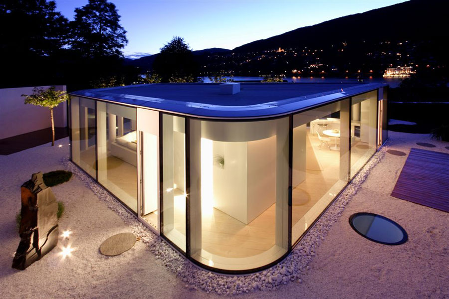 Villa on Lake Lugano