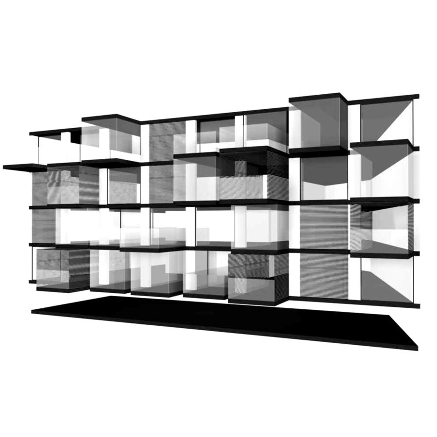 Apartment Block: Lomocubes, Apartment Block