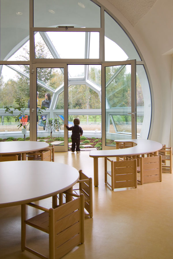 Organic architecture for an early learning centre – Centro