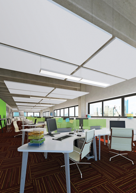 Optima L Canopy di Armstrong Building Products