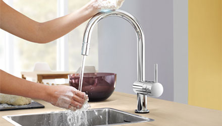 Minta Touch di GROHE