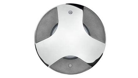 Steel Round Compact LED di Prisma Architectural