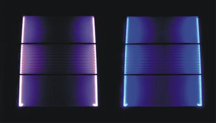 Facciata luminosa a LED di Nicolli