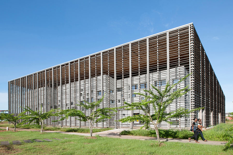 New University Library in Cayenne, French Guiana