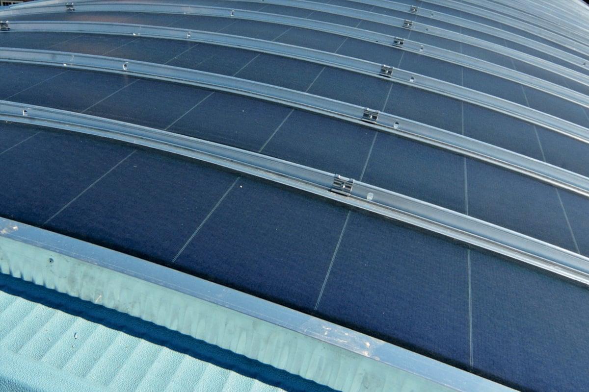 Enercover l'Impianto Fotovoltaico si Integra con l'Architettura