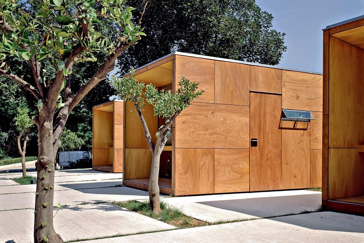 Parklex facade: Il legno, fuori