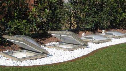Sistema Ecogy luce e ventilazione naturali