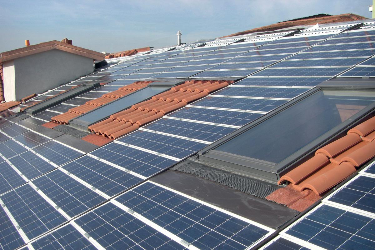 Elettrotegola - Sistema fotovoltaico integrato