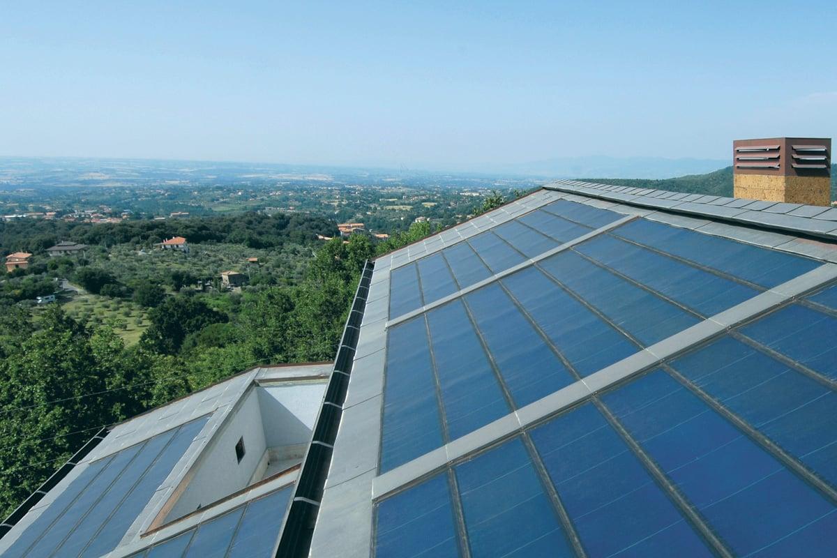 Tegosolar - Tegole fotovoltaiche integrate in copertura