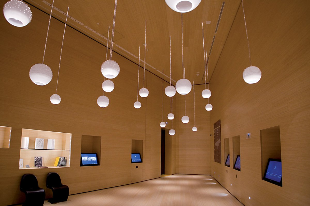 Parklex interiors - Toughness and durability at the Bilbao Guggenheim Museum