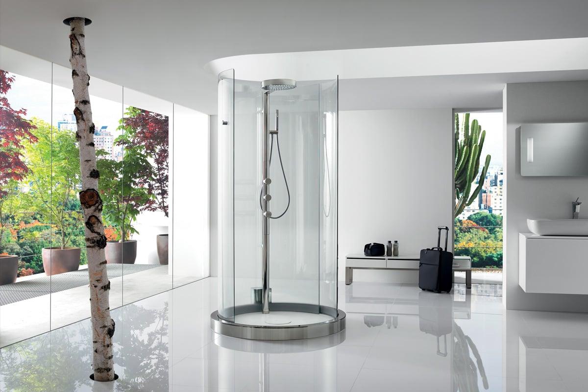 The Gap Stylish Technology In The Bathroom Roca