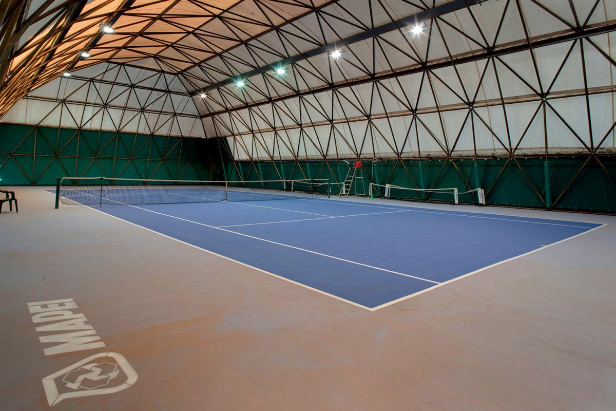 Mapecoat TNS - High-performance resin for tennis courts