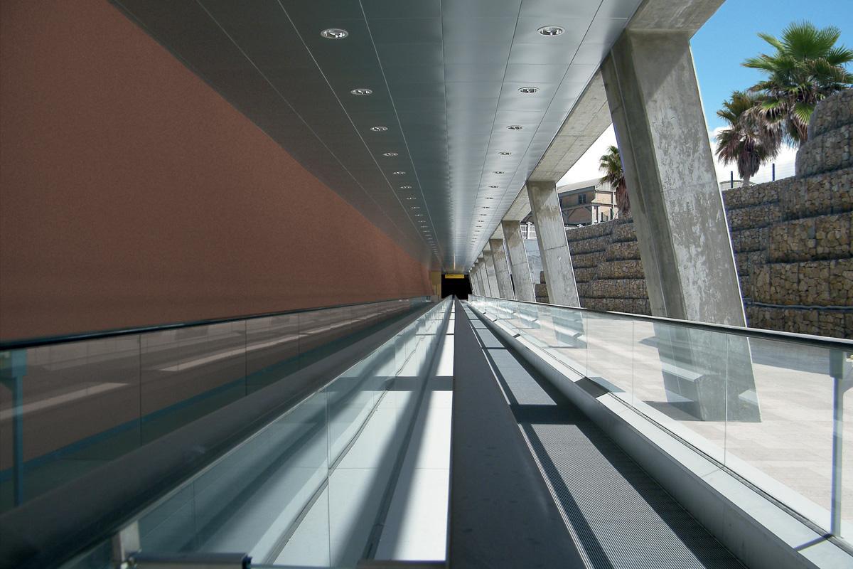 Train Station at Elmas Airport