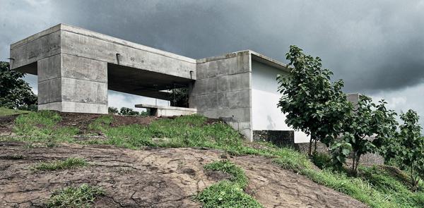 La casa in pietra liquida