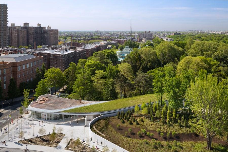 Brooklyn botanic garden visitor center for Brooklyn botanical garden parking