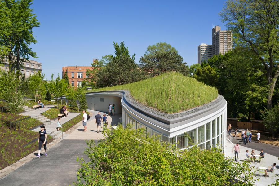 Centro Visite Del Giardino Botanico Di New York