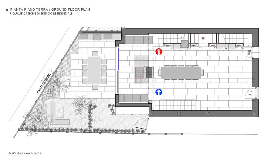 Riqualificazione edificio residenziale for Software di piano terra residenziale