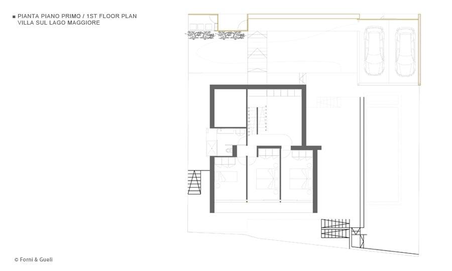 Villa sul lago maggiore for Piani da sogno per il garage