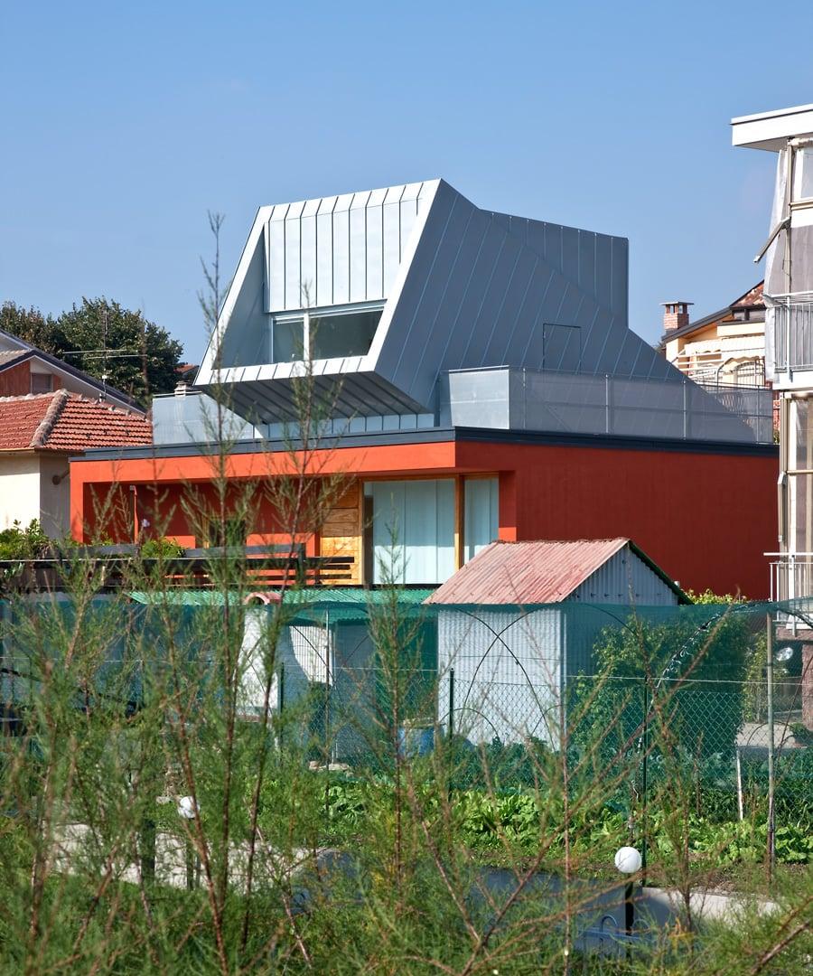 La casa sulla casa ampliamento - Ampliamento casa ...