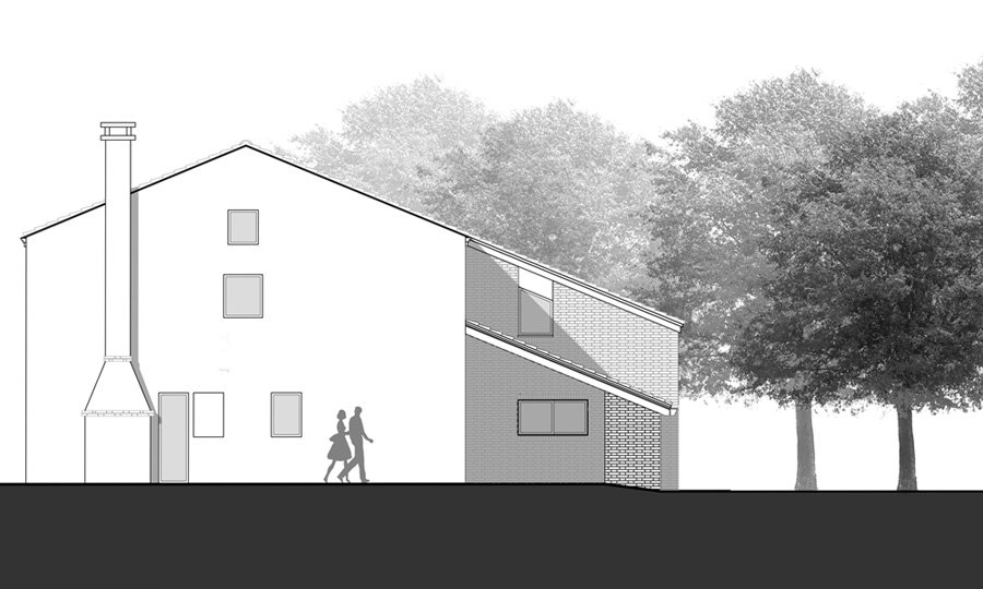 East Elevation © Bruno Stocco Architetto