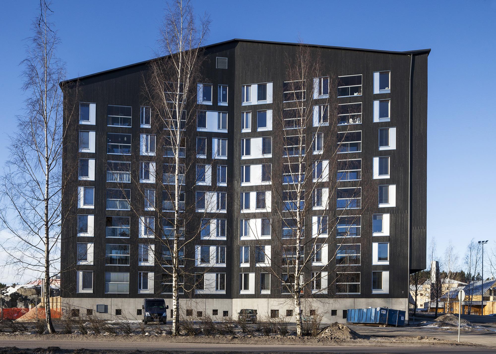A r c h i b a l l: деревянная многоэтажка в финляндии.
