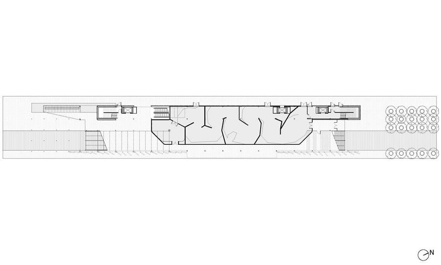 Pianta piano terra © Biber Architects