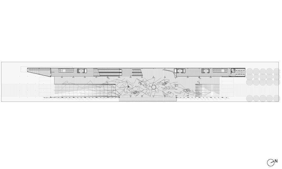 Pianta piano primo © Biber Architects